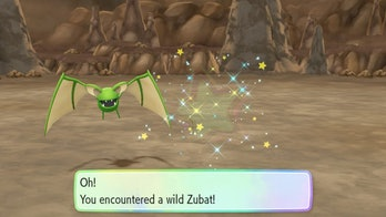 'Pokemon: Let's Go' Shiny Zubat