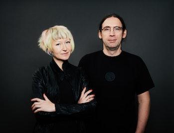 Zoe and Marcin.