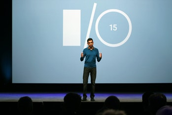 Sundar Pichai, SVP of Android, Chrome and Apps at Google