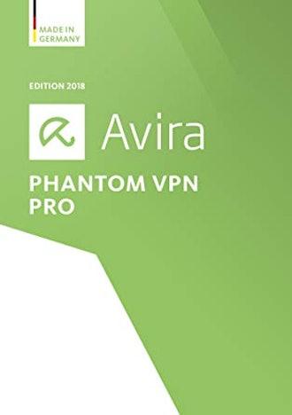 Avira Phantom VPN Pro 2018