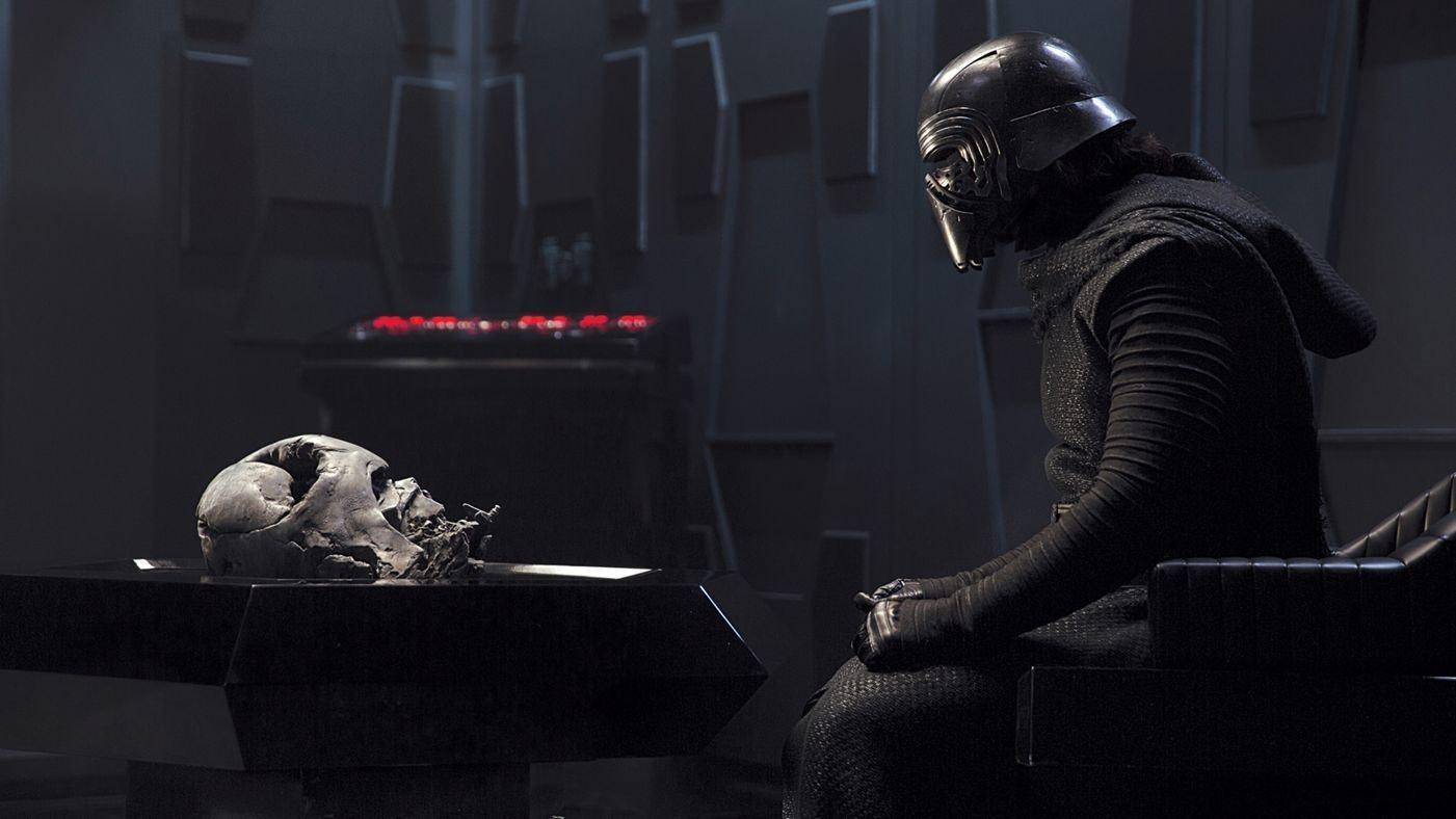 Kylo Ren in The Force Awakens