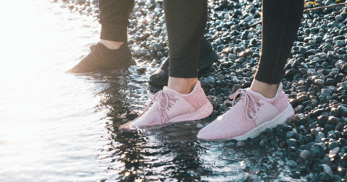 These Waterproof Shoes Look Cool as Hell