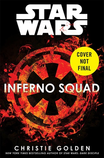 Rogue One sequel novel book star wars Inferno Squad death star jedha