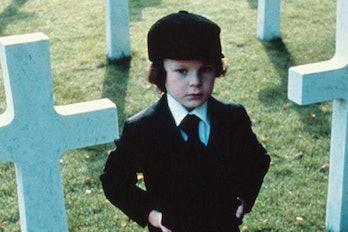 Damien from 'The Omen' (1976), as portrayed byHarvey Spencer Stephens.