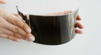 samsung unbreakable screen