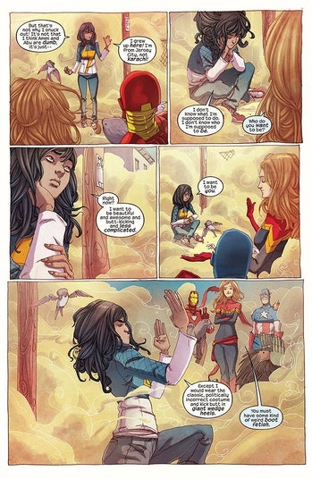 Captain Marvel Kamala Khan MCU