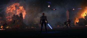 Obi-Wan in Mandalorian armor in 'The Clone Wars'