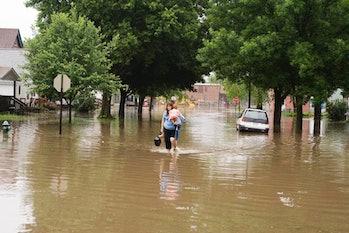 flood, Iowa