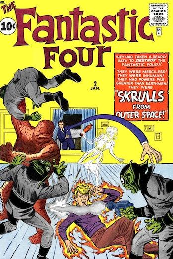 Fantastic Four Skrulls