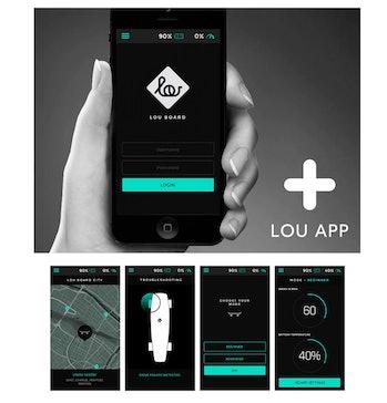 Lou's companion mobile app.