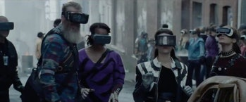 In 'Ready Player One', pretty much everybody spends their time in the Oasis.