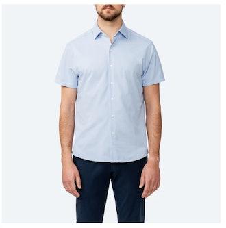 Men's Hybrid Seersucker Short Sleeve