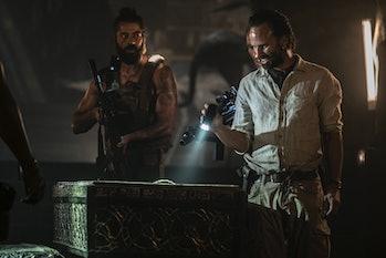 tomb raider mummy scene