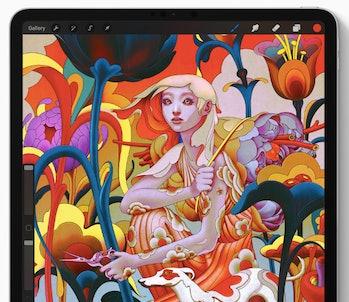 apple ipad design art