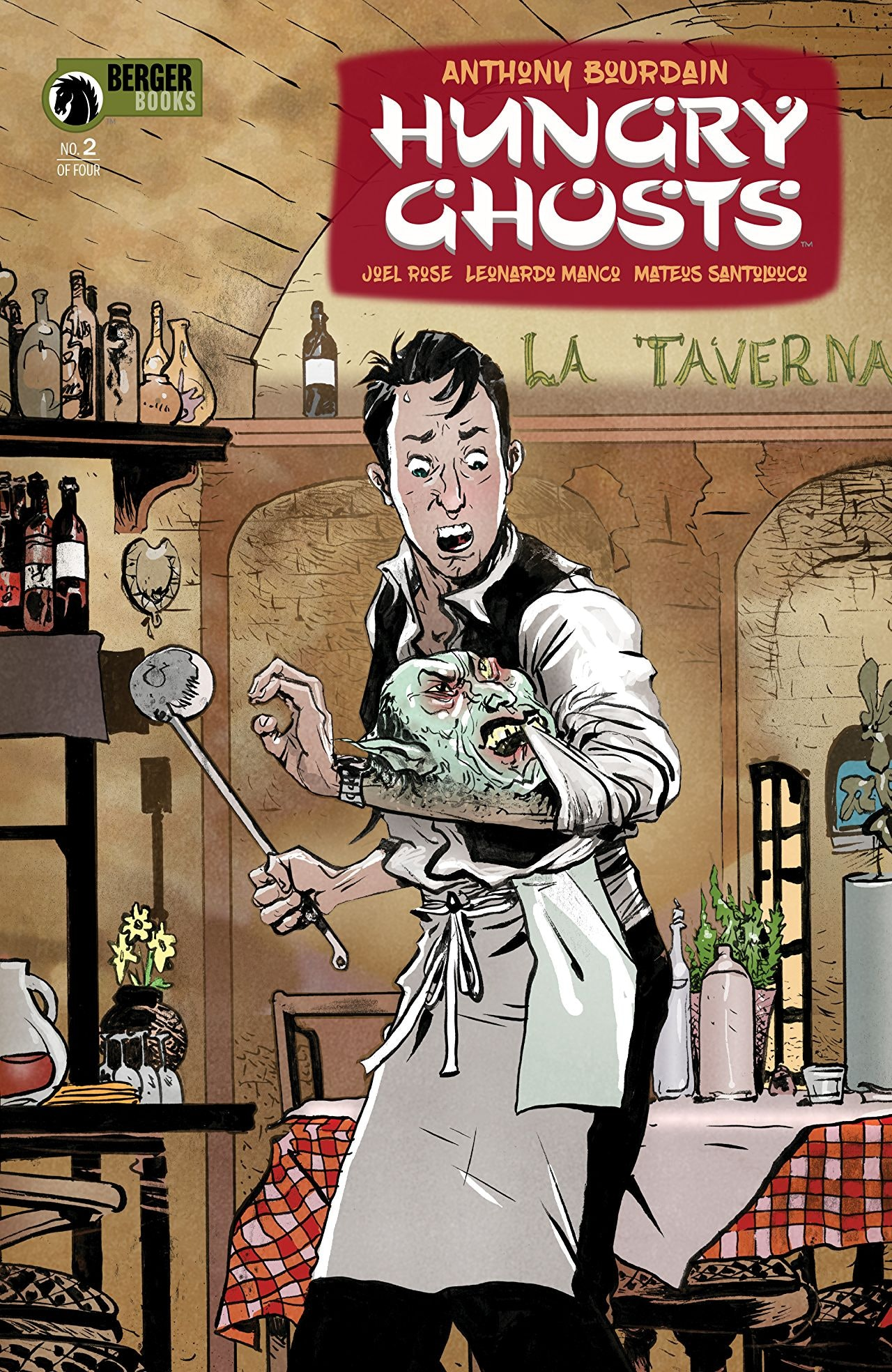 Anthony Bourdain Hungry Ghosts