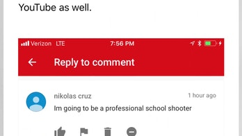 A screenshot of Cruz's comment.