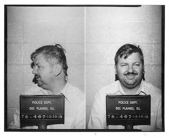 John Wayne Gacy's mugshot. mindhunter season 3 easter egg