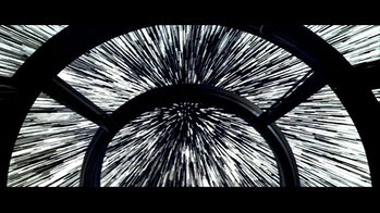 star wars cockpit hyperspace