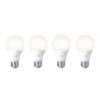 Philips Hue White E26 A19 4-pack