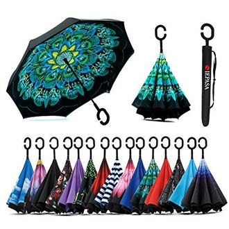 Siepasa Double Layer Inverted Umbrella