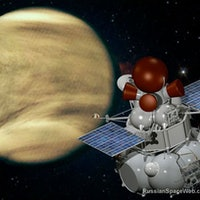 Russia's Roscosmos Will Drop a Big Red Ball Onto Scorching Venus