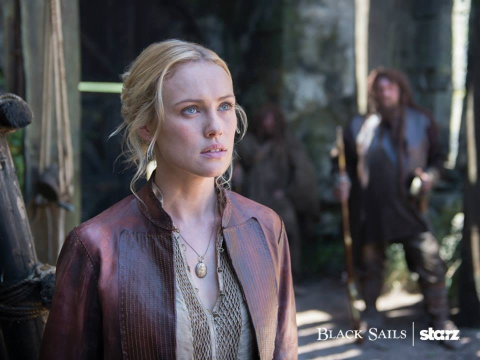 Hannah New as Eleanor in 'Black Sails'