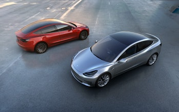 Electric Car Vehicle