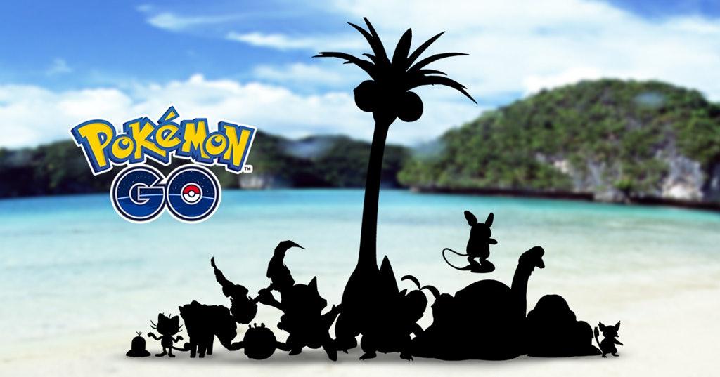 pokemon go alolan forms