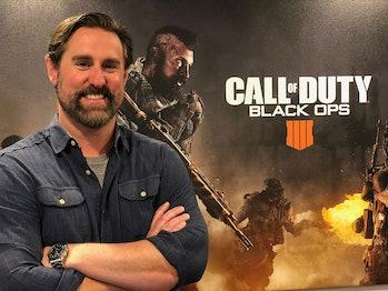 Dan Bunting,Co-Studio Head of Treyarch, developer of 'Call of Duty: Black Ops 4'.