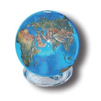 Aqua Crystal Earth Sphere