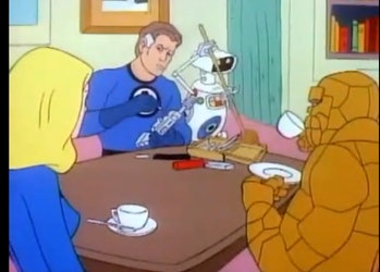 marvel tv shows fantastic four