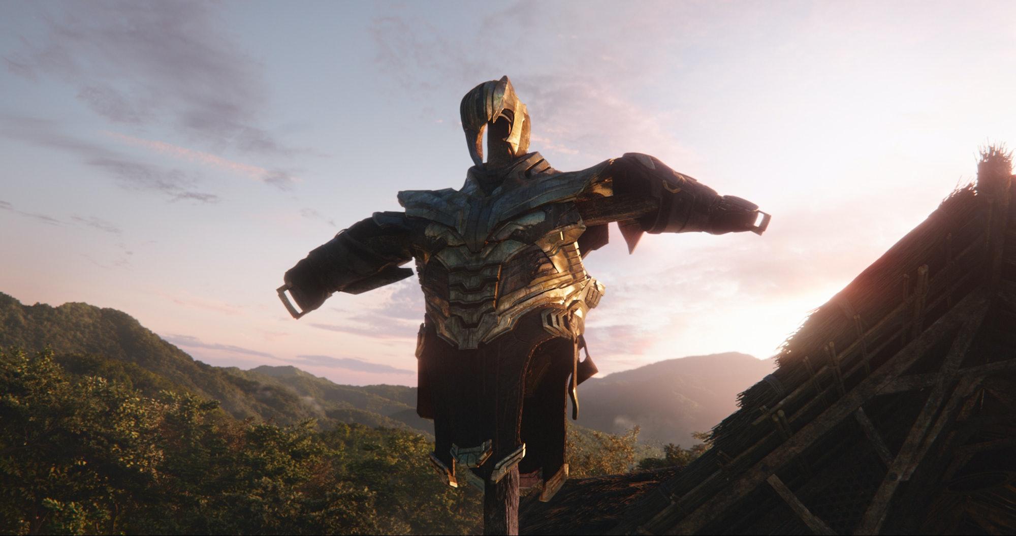 Avengers: Endgame Thanos armor