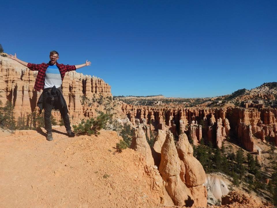 Thomas on canyon