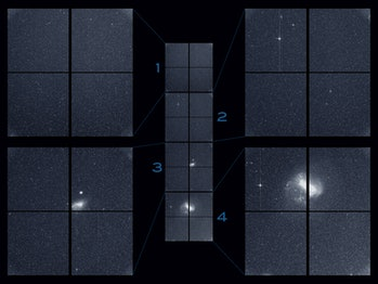 TESS light image