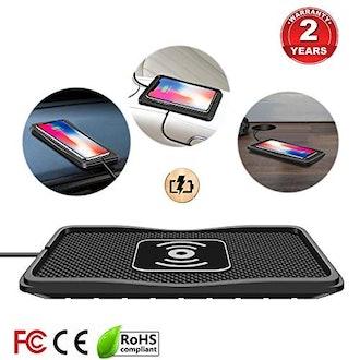 Polmxs Wireless Car Charging Mat