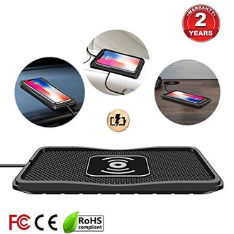 Polmxs Wireless Car Charging Mat