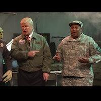 "Alec Baldwin's Donald Trump Botches Alien Invasion on 'SNL"""