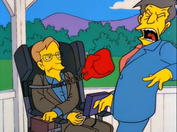 Stephen Hawking made regular appearances on 'The Simpsons' for many years.