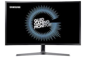 Samsung 27-Inch HDR QLED Quantum Dot Curved Gaming Monitor (144Hz / 1ms) Model C27HG70QQN