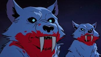 Wolves in Tartakovsky's *Primal.*