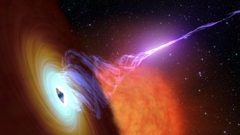 Black hole with accretion disk.