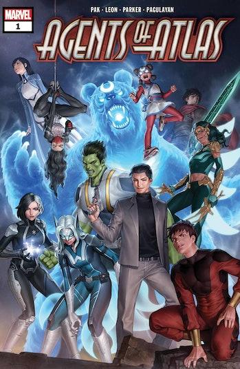 Marvel Agents of Atlas Shang Chi