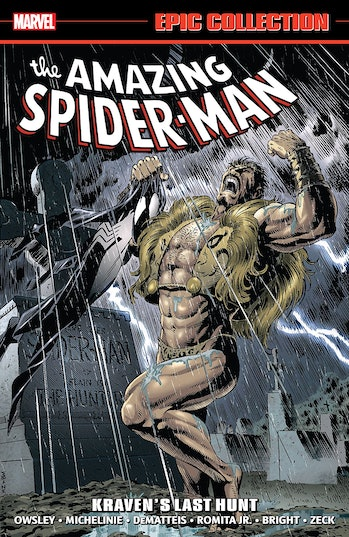 Spider-Man Homecoming Kraven's Last Hunt