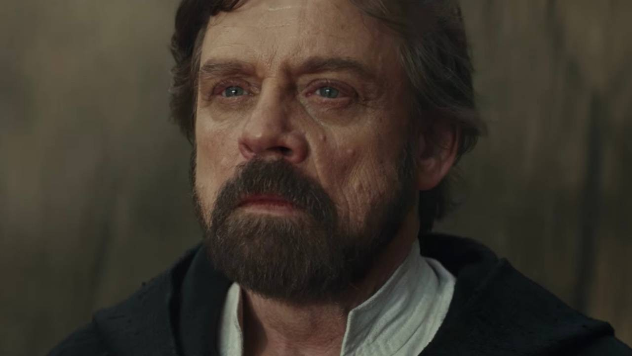 "Luke opted for ""younger with a darker beard and a haircut"" instead of ""virtually indistinguishable from the real item,"" but the definition holds."