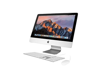 Apple 27' iMac Computer with Apple Wired Keyboard & Wired Mouse (Certified Refurbished)