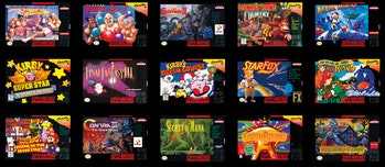 'Star Fox' and 'Super Ghouls 'n Ghosts' are at the top of our list.