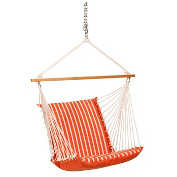 Algoma Net Cushioned Hanging Chair