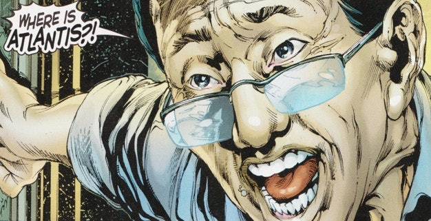 Dr. Stephen Shin in the comics