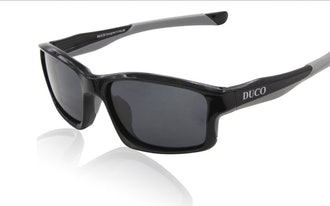 Duco Full Rim Polarized Sunglasses For Sports Running Cycling Fishing TR90 Unbreakable Frame 6177