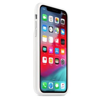 The iPhone XS Smart Battery Case also comes in white.